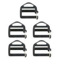 5pcs Plastic Webbing Buckles for 25mm Strap Backpack Bag Case Attachment