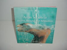 Asian Secrets of Health Beauty and Relaxation Book Sophie Benge
