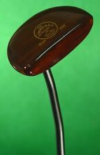 """The Timbered Putter Russ Fisher Ovolo 2000 Hand Made 35"""" Putter Golf club QQ"""