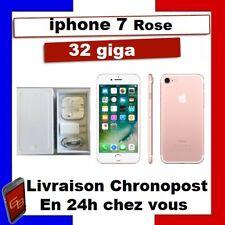 IPHONE 7 32 GO Or Rose Reconditionné DÉBLOQUÉ TOUT OPÉRATEUR  TÉLÉPHONE 32 GIGA