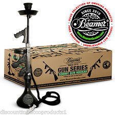 Beamer Tommy Gun Hookah Shisha Nargila Smoking Pipe Set Flavors Tobacco Charcoal