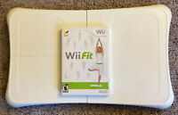 Nintendo Wii Fit Balance Board & Game Bundle*Tested & Working*