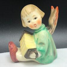 1967 HUMMEL GOEBEL ORNAMENT FIGURINE W Germany angel tmk-6 accordion 238B girl