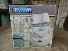 The First Years BabyPro Nursery Bottle Warmer & Cooler New Open Package