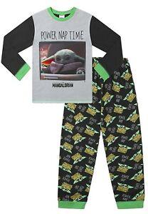 Boys' Star Wars Baby Yoda The Child Mandalorian Power Nap Pyjama Set