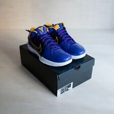 Nike Kobe 4 Protro Undefeated Los Angeles Lakers Size 11, DS Brand New