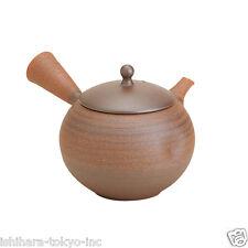 [Premium] Tokoname Pottery : EKUBO - Japanese Kyusu tea pot 330cc Ceramic Mesh
