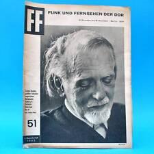 DDR FF-Dabei 51-1965 / 12.12.-18.12. Halle Moritzburg Zoltan Kodaly Perichole