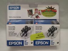 Epson 21 T0321 Black Inkjet for Epson Stylus C80 T032120 Expired Lot of2