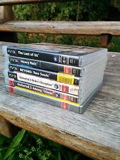 PS3 Games: Uncharted 1, 2 and 3, The Last of Us, Heavy Rain, Beyond Two Souls
