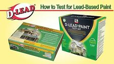 D-LEAD LEAD PAINT TEST KIT 24 TESTS PER KIT NEW! PTKIT-24-1.0 EPA ETV TESTED