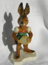 Vintage Goebel W. Germany Female Rabbit with Tennis Racket Figure #33105-12