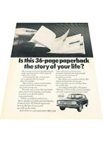 1970 Volvo 144 140 Series  - Vintage Advertisement Car Print Ad J408