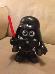MR POTATO HEAD DARTH VADER WITH LIGHT SABRE AND CLOAK