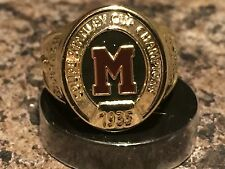 2016 Molson Canadian Stanley Cup Ring Montreal Maroons 1935 Promo New Nice