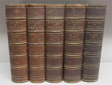 5 Volumes Guizot History of England 1876, 19th Century ( 1800s )