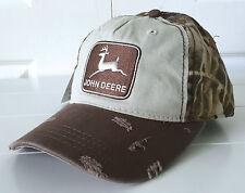 John Deere 1968 Stone Washed Realtree Max-4 Distressed Cap Hat Adjustable