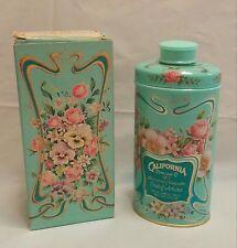 Vintage 1977 Avon California Perfume Co. Trailing Arbutus Perfumed Talc in Box