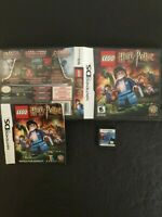 NINTENDO DS Video Game - LEGO HARRY POTTER YEARS 5-7 Game FREE SHIP