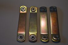 Four Glider Hardware Hanger Brackets, Bearing Ends (Zinc Plate) MADE IN THE USA!