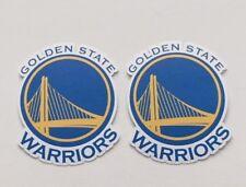 2x Golden State Warriors Car Bumper Laptop Phone Vinyl Die Cut Sticker Decal