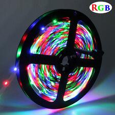 5m RGB Color Change SMD3528 300 LED Flexible Light Strip No-Waterproof DC12V 24W