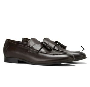 Julius Marlow Wonder Shoes Mocha Leather Mens Size 11 RRP $159.95 Brown