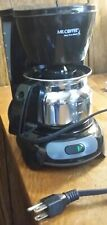 Mr. Coffee 4 Cup Hospitality Certified Coffee Maker-Excellent Condition
