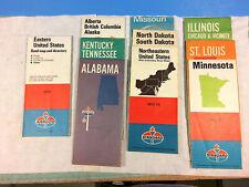 New ListingVintage Lot of 10 1970s Amoco Standard Oil American Oil Company Road Maps