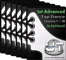 Intermediate-Advanced Tap Dance Lessons 1-18 on DVD by Rod Howell (28+ Hours)