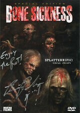 Bonesickness DVD Signed Unearthed Films Brian Paulin Horror Gore Low Budget