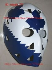 FIBERGLASS STREET DECK NHL ICE HOCKEY GOALIE HELMET MASK Mike Palmateer HO31