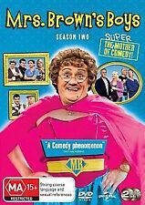 MRS BROWN'S BOYS SEASON TWO (SERIES 2) - BRAND NEW & SEALED 2-DISC DVD (COMEDY)