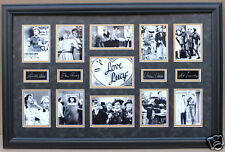 I LOVE LUCY  Framed 11 Picture Photo Collage