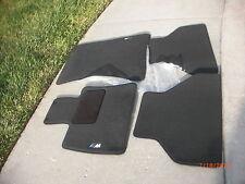 (2007-2012) BMW X5 X6 X5M X6M ORIGINAL ///M FLOOR MAT E70 E71 ORIGNAL BLACK NEW