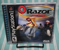 Razor Racing PS1 COMPLETE Playstation Sony Crave Entertainment