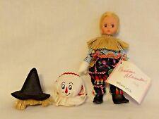 "Madame Alexander 8"" Scarecrow w/ removable costume. New, original box, w/ tags."