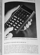 1975 Slide Rules & Electronic Calculators HP-45 Bowmar MX100 SR-50 UNICOM 202
