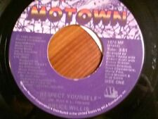 """BRUCE WILLIS 45 RPM """"Respect Yourself"""" & """"Fun Time"""" VG condition"""
