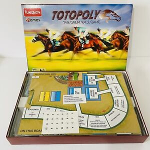 Funskool Totopoly The Great Race Game - Cellophane Removed But Contents Unused
