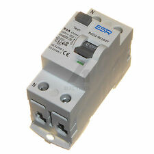 80A 100mA time delay RCD trip safety switch double pole 80 amp 230V DP 2P new