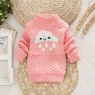 Kid Children Sweater Clouds Pullover Knitting Turtleneck Warm Outerwear Sweater
