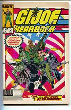 G.I. GI Joe Yearbook 2 Marvel 1986 VF Michael Golden Snake Eyes Cobra