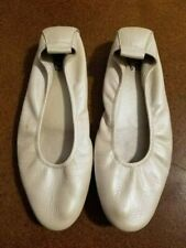 Arche Laius Pearl White Leather Ballet Flats 39/8 France
