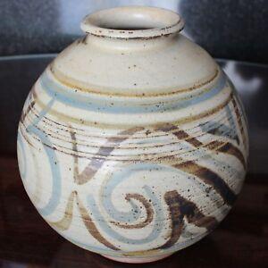 Stoneware Studio Pottery GEOFFREY WHITING Vase, Unmarked but verified