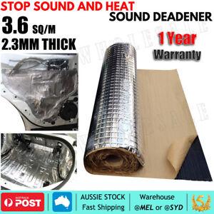 6M*0.6M 3.6SQ/M Butyl Sound Deadener Roll, 20% THICKER Sound Proofing vs dynamat