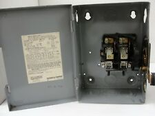 SQUARE D SAFETY SWITCH D221N 240 VAC, 30 AMP, 2 Pole.