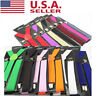 US Unisex Elastic Y-Shape Braces Mens Womens Clip-on Suspenders Adjustable WDS