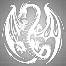 "Dragon Hood Decal, Dragon Hood Sticker, Truck Car Decal 24"" x 24"""