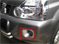 Chrome Car Front Fog Light Lamp Bezel Cover Trim For Nissan X-Trail 08 09 10 11